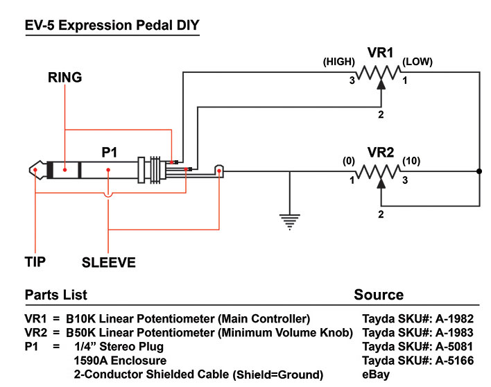EV-5 DIY SCHEMATIC