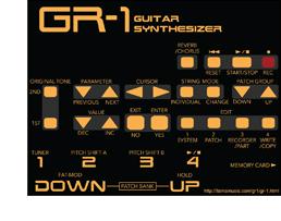 GR-1 Vector Art Icon