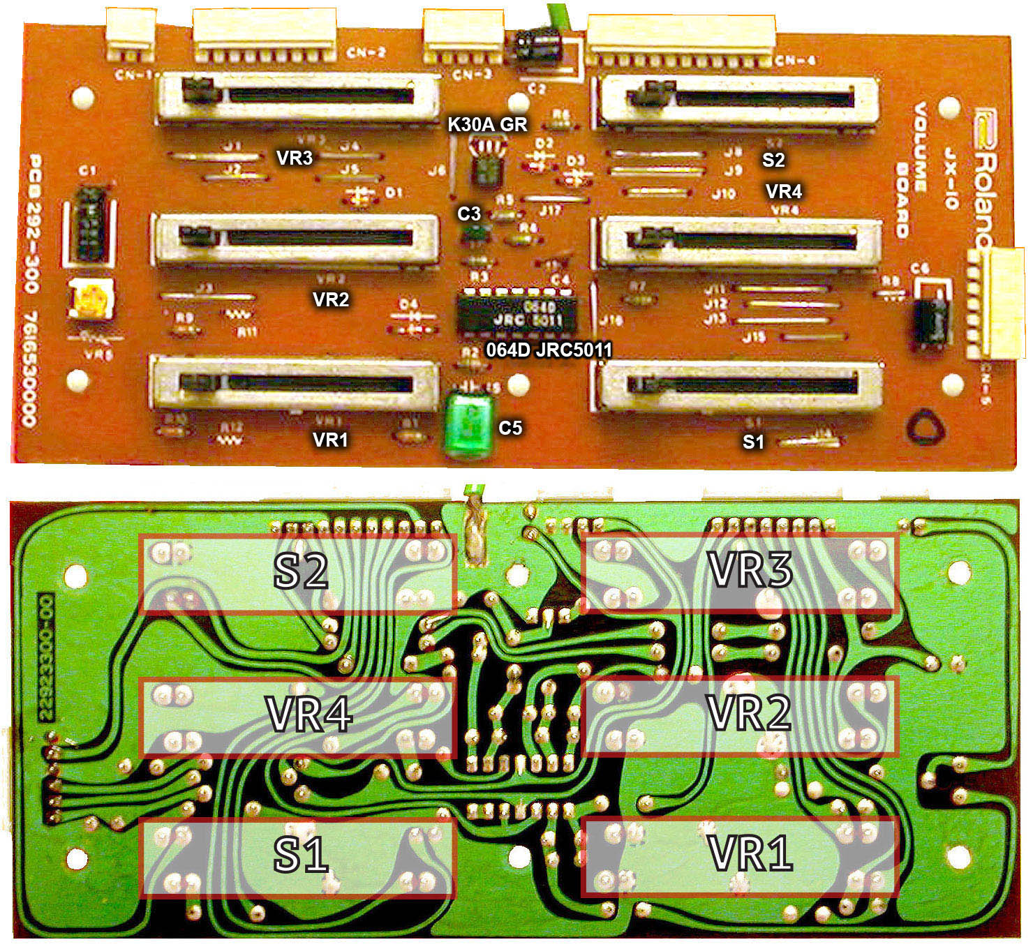 Roland Super Jx 10 And Mks 70 Info This Is The Wiring Schematic For Ev5 Expression Footpedal Volume Board Small