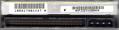 SCSI HD DETAIL