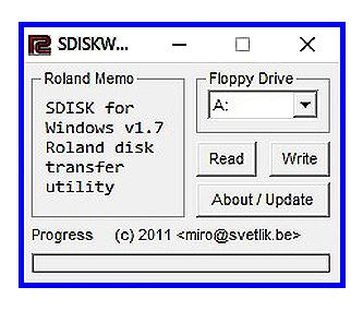S-50 / S-550 SDISKW