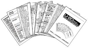 U-20 Reference Cards