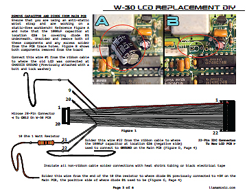 w-30 lcd replacement diy - ver  20190321 (right‑click then save as pdf)