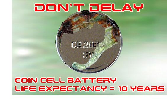 Battery Damage
