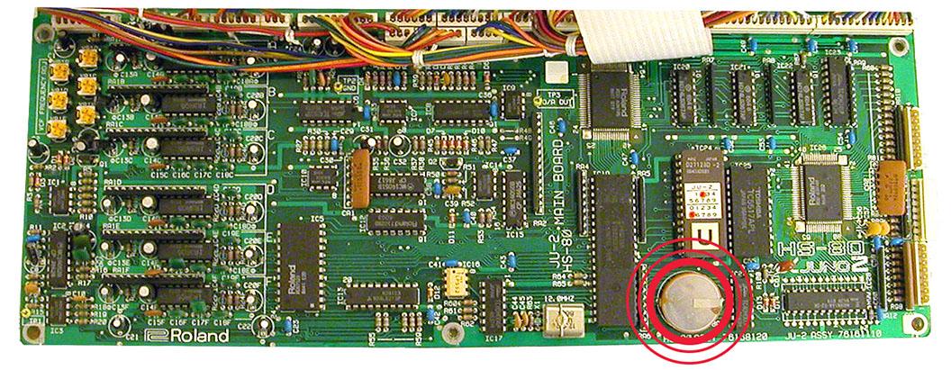 Alpha Juno-2 PCB