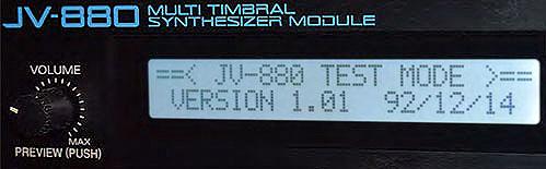 JV-880 ZONE