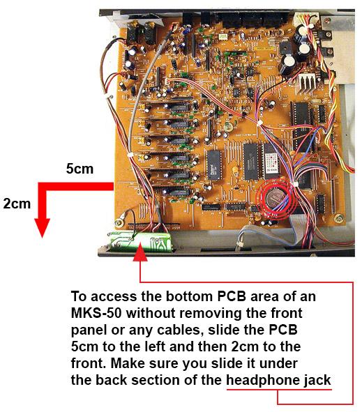 MKS-50 Battery Location