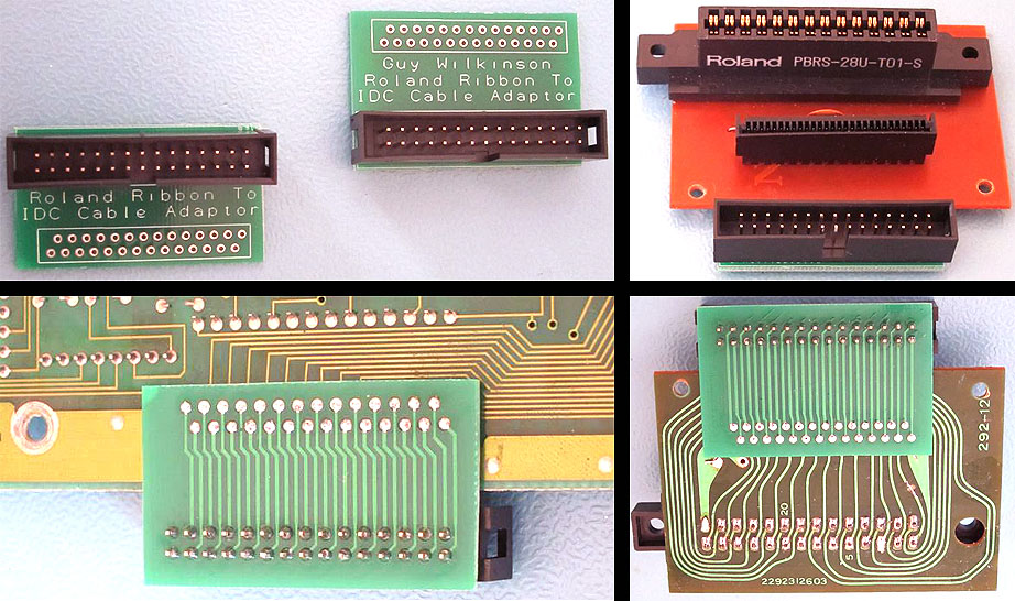Pcb Ribbon Cable : Roland super jx and mks info