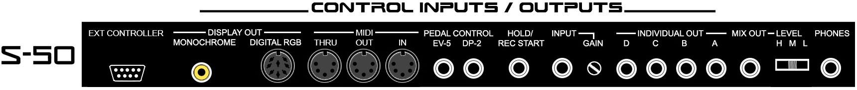 S-50 / S-550 CONTROL