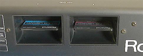 PCM Card Slots